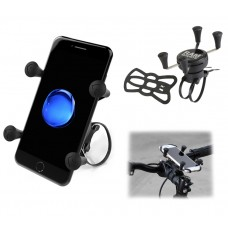 EZ-ON/OFF™ Bicycle Mount with X-Grip Universal Phone Holder