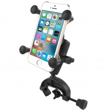 X-Grip® Phone Mount with Composite Yoke Clamp Base