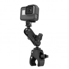 "Small Tough-Claw™ Mount with 1"" Ball GoPro® Hero Adapter"