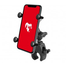 Small Tough-Claw™ Base with Short Double Socket Arm and Universal X-Grip®