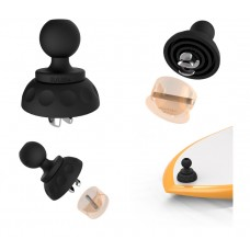 "Leash Plug Adapter with 1"" Ball"