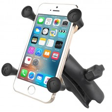 X-Grip® Phone Holder with Composite Double Socket Arm