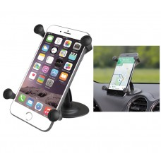 Lil Buddy™ Adhesive Base Mount with Universal X-Grip® Large Phone Holder
