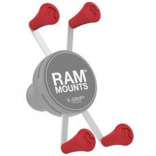 RAM® X-Grip® Red Rubber Cap 4-Pack