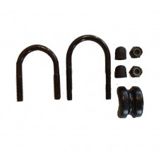 Zinc Coated U-Bolt Hardware Kit